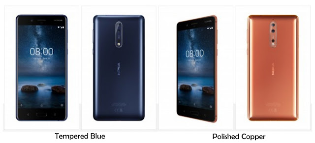 Warna Nokia 8