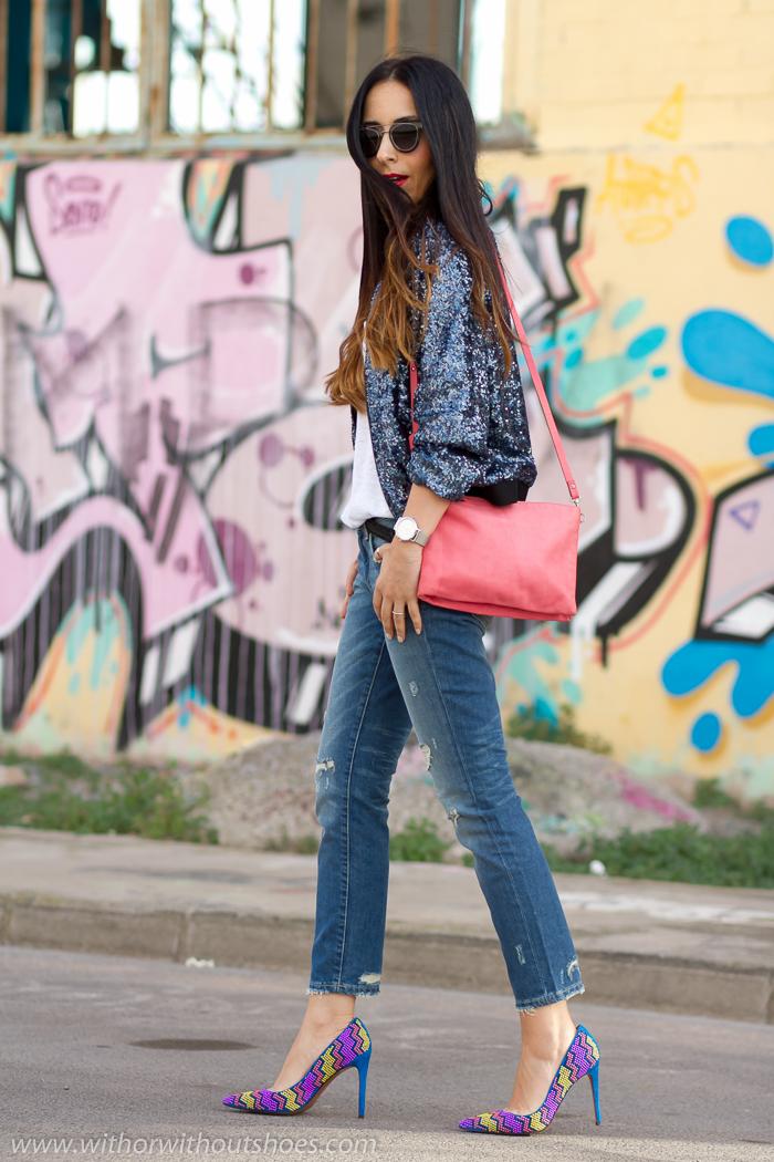 Tendencias Primavera-Verano Cropped jeans, bomber