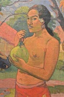 Saint Pétersbourg : musée de l'Ermitage2 Etat-Majour Paul Gauguin : Femme tenant un fruit