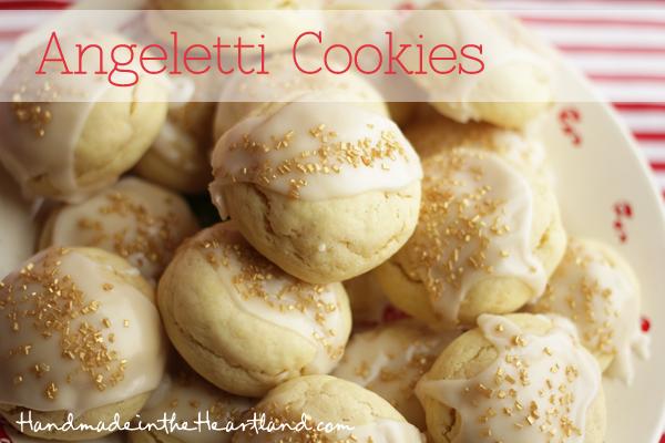 Italian Angeletti Cookies