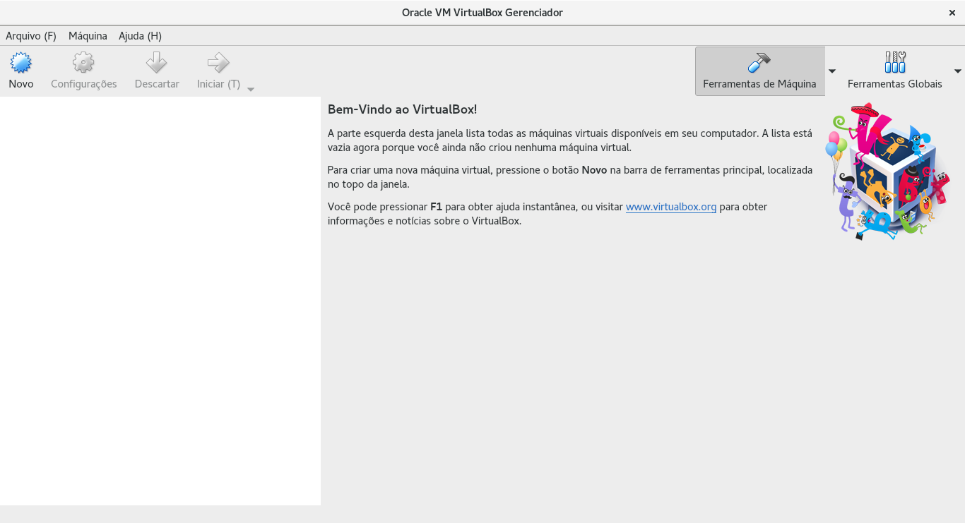 Blog do Danniel: VirtualBox no Fedora 28
