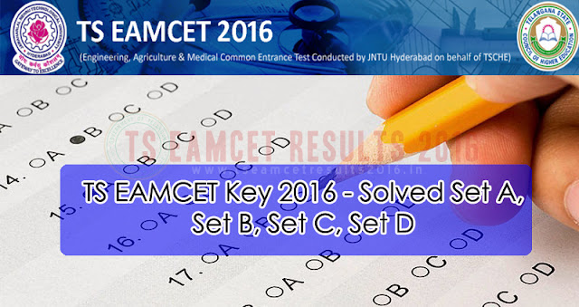 TS EAMCET Answer Key
