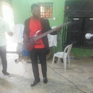 Nigerian bass guitarist