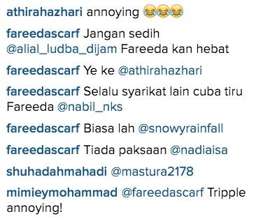 Management Fareeda Scarft Dikecam