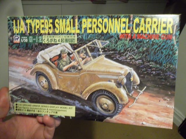 Pit Road IJA Type 95 Kurogane 4x4 staff car - box art
