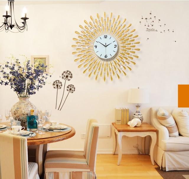 Đồng hồ trang trí treo tường Deco DHNL322