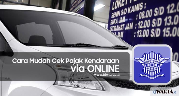 Cara Mudah Cek Pajak Kendaraan (STNK) via Online
