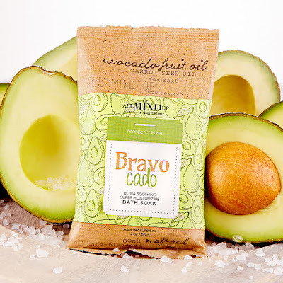 Avocado bath salts from positively posh safe bath products