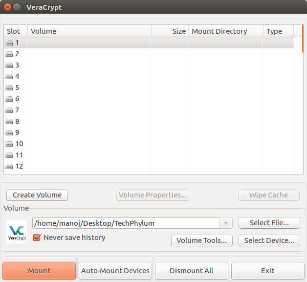 How to encrypt folders and files on Ubuntu/Linux Mint