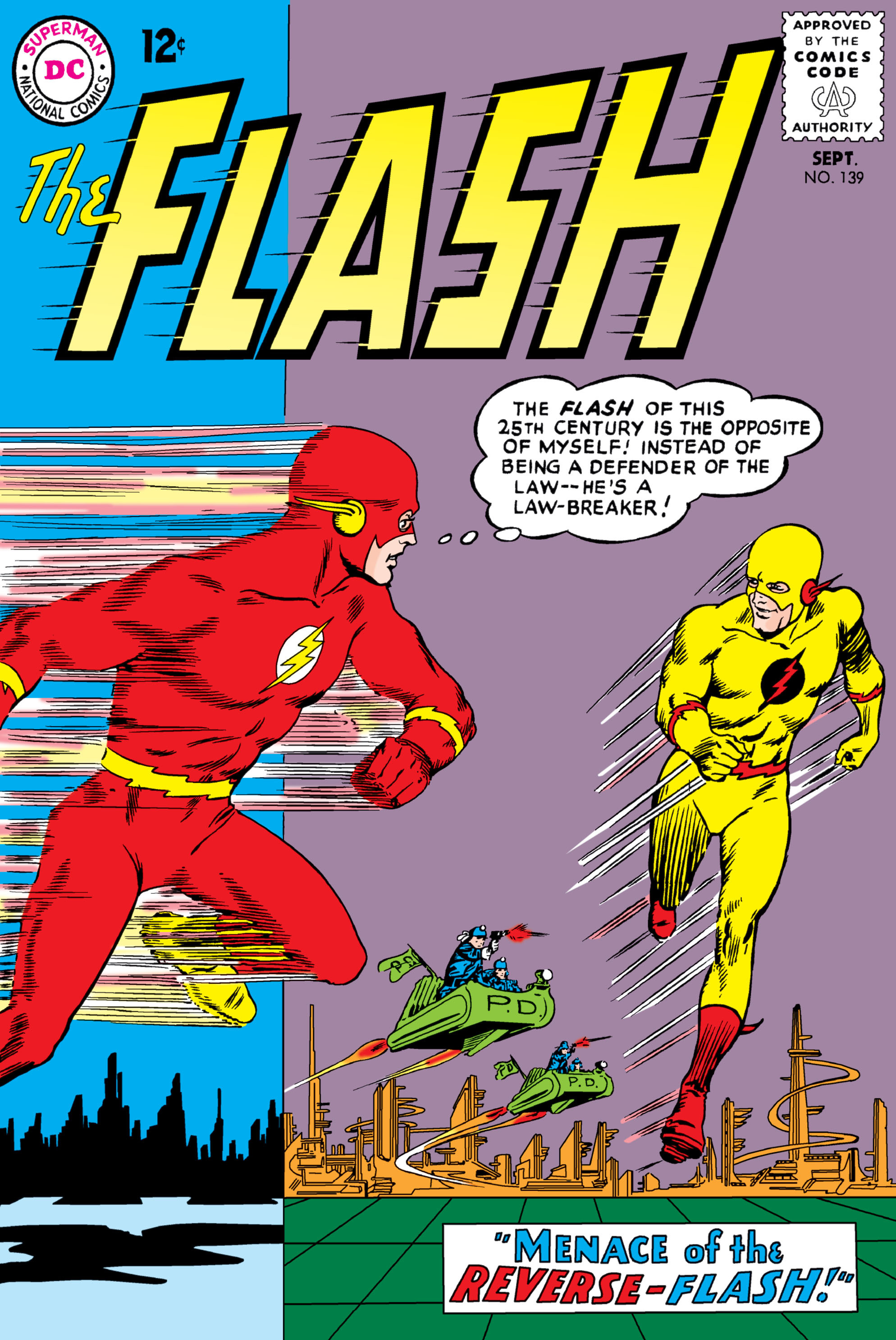 The Flash (1959) 139 Page 1