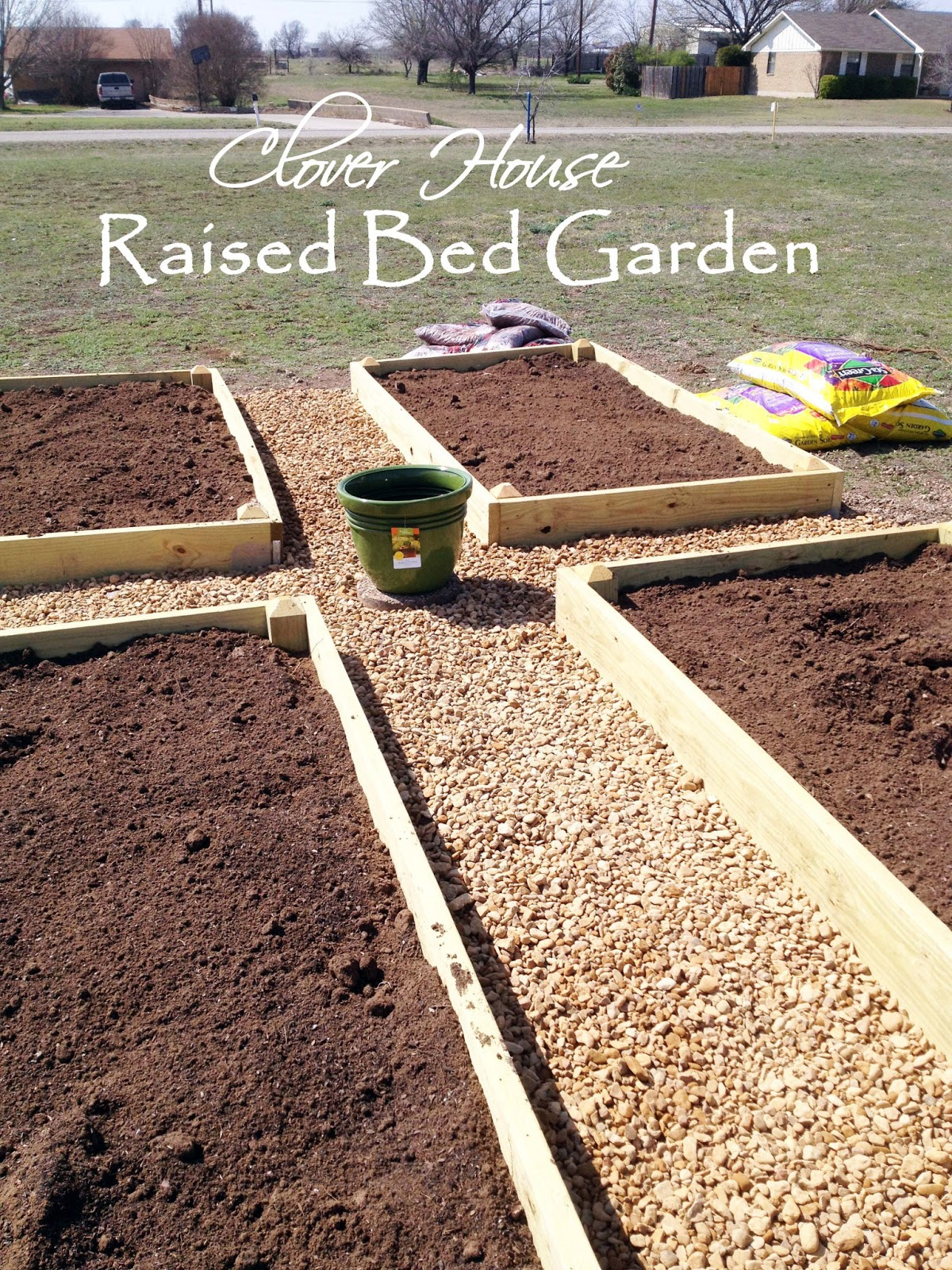 Raised Bed Garden Design: Clever Chicks Blog Hop #29 And Jewelry Socks Tutorial & 2