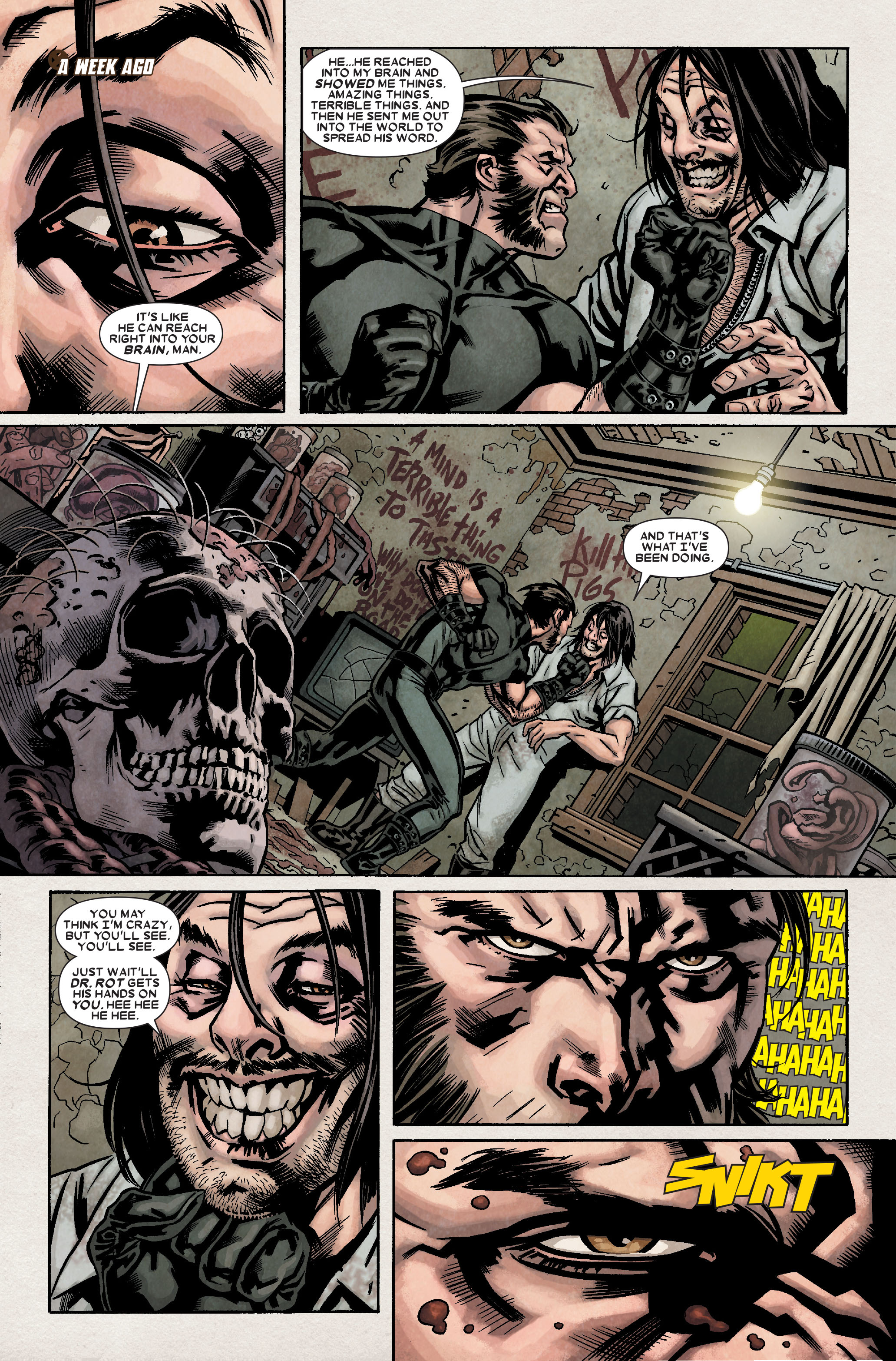 Read online Wolverine: Weapon X comic -  Issue #8 - 9