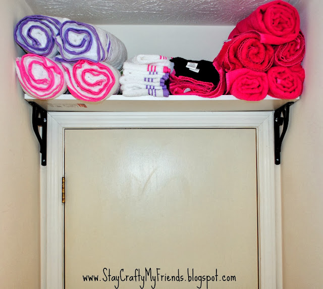 Apartment Bathroom Makeover: Life As The Coats: Apartment Bathroom Makeover