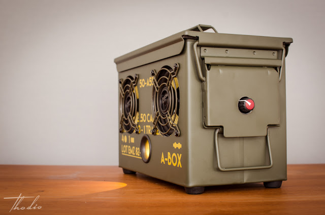 Thodio 50 Cal A Box Die Munitionsbox Als Luxus Boombox