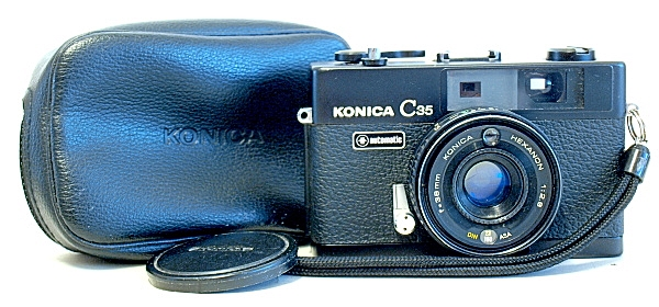 Konica C35 Automatic 35mm Film Camera