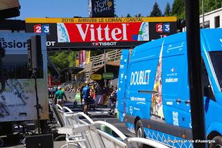 Tour de France 2016, le Lioran, ligne d'arrivée