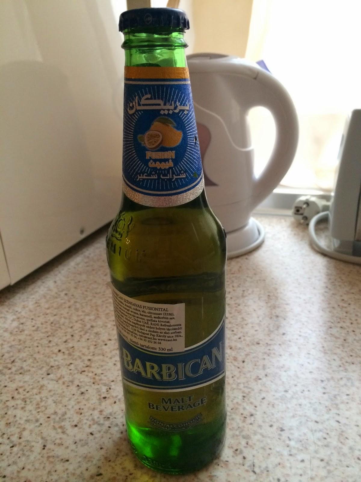 World Beer Experience: Barbican lemon - U A E  - 21-1-2014
