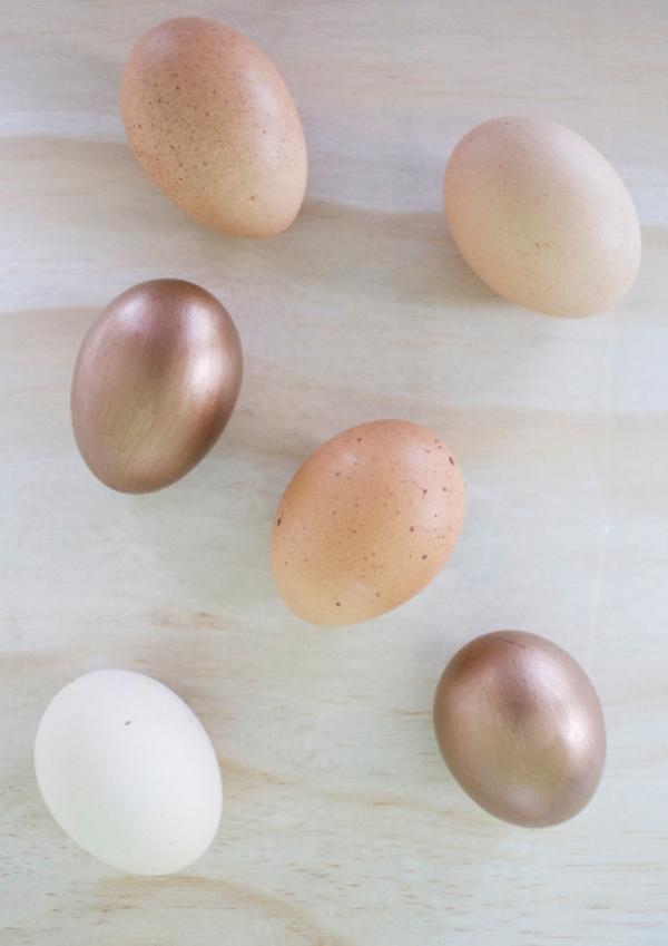 Gorgeous Bronze Easter Eggs by Eliza Ellis