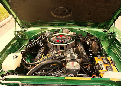 1967 Plymouth GTX 440 Magnum Sports Coupe Engine