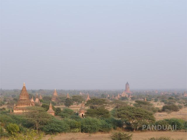 Candi Candi di Bagan, Myanmar