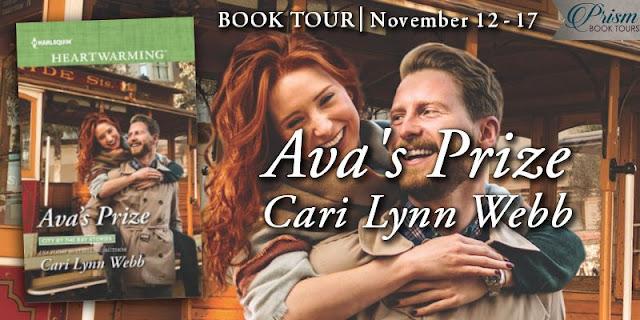 Ava's Prize blog tour banner