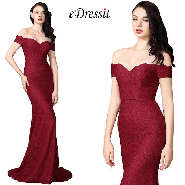 strapless off shoulder trumpet long dress