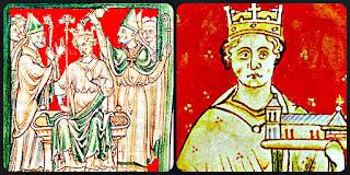 portrait of Richard I and John