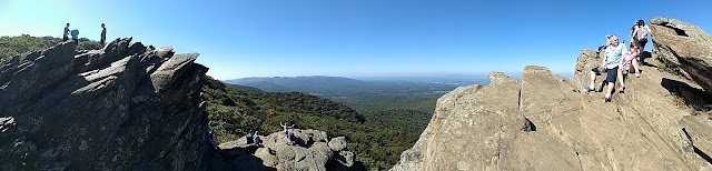panorama view of humpback rocks