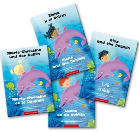 PERSONALISED CHILDREN'S BOOK IN TWO LANGUAGES OF YOUR CHOICE by TimTimTom