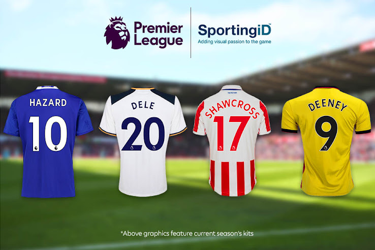 All-New 2017-18 Premier League Kit Numbers Font