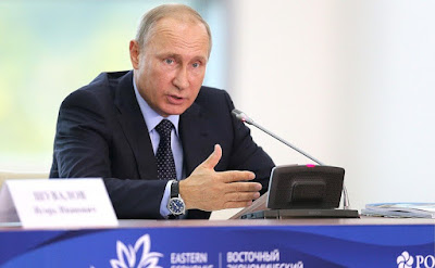 Vladimir Putin held a State Council Presidium meeting in Vladivostok on the comprehensive socioeconomic development of the Russian Far East.