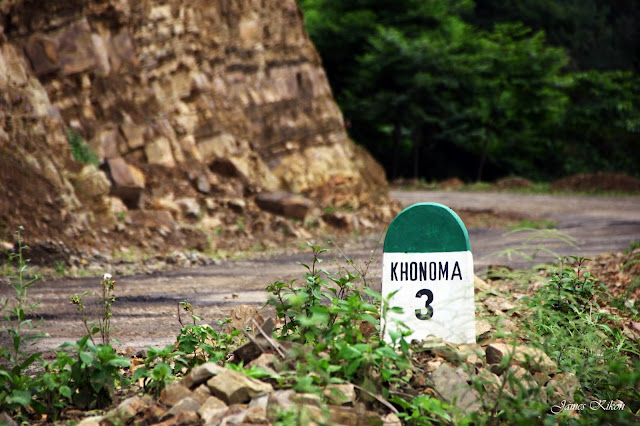 Khonoma Green Village Kohima Nagaland Road