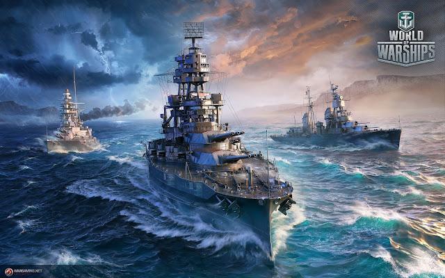 Actualización de cruceros americanos 0.7.5 en World fo Warships