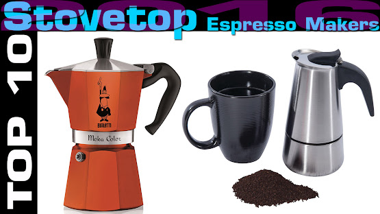 Top 10 Review Products-Top 10 Stovetop Espresso Makers 2016