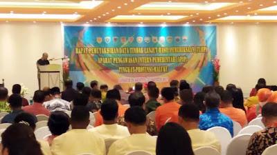 Rapat TLHP APIP Tahun 2017 Tingkat Provinsi Maluku Digelar Di Malra