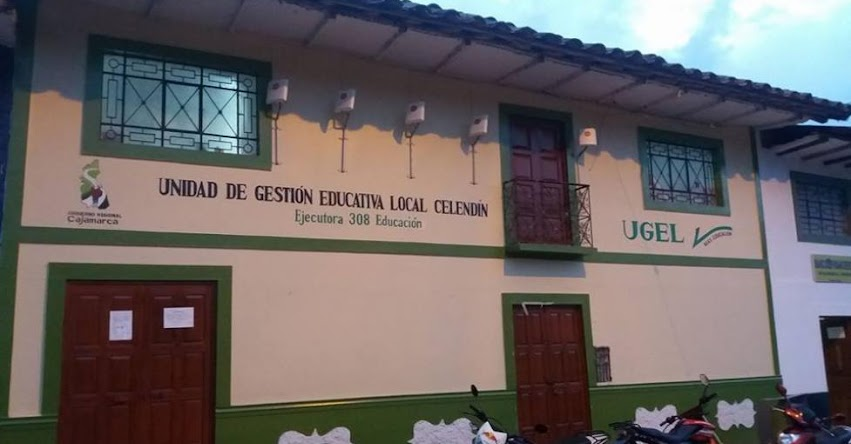 Contraloría interviene UGEL Celendín - Cajamarca