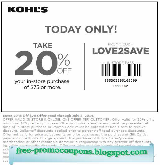 Kohl's has offered a sitewide coupon (good for all transactions) for 30 of the last 30 days. As coupon experts in business since , the best coupon we have seen at buzzfrnew.ml was for 35% off in November of