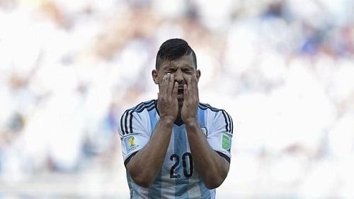 Aguero Aguero nguy cơ lỡ World Cup 2014
