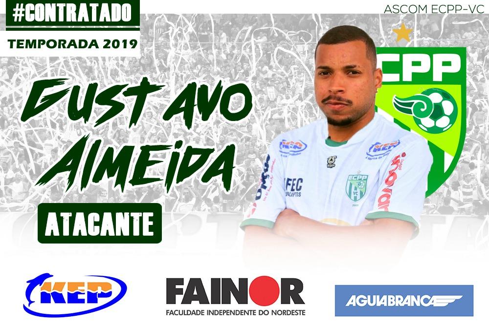 Atacante Gustavo defenderá o Vitória da Conquista no Campeonato Baiano 2019 5af20ca9a36df