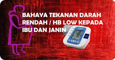 HB rendah semasa hamil
