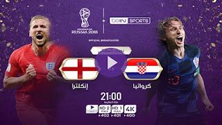 مشاهدة مباراة إنجلترا وكرواتيا بث مباشر بتاريخ 18-11-2018 دوري الأمم الأوروبية
