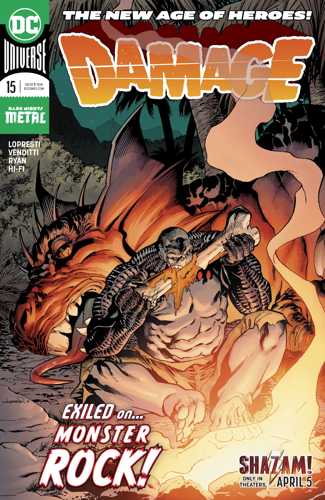 Read online Damage (2018) comic -  Issue #15 - 1