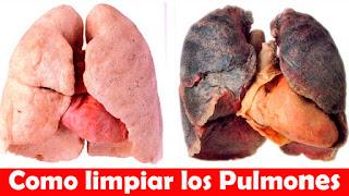 con estas bebidas limpiaras tus pulmones
