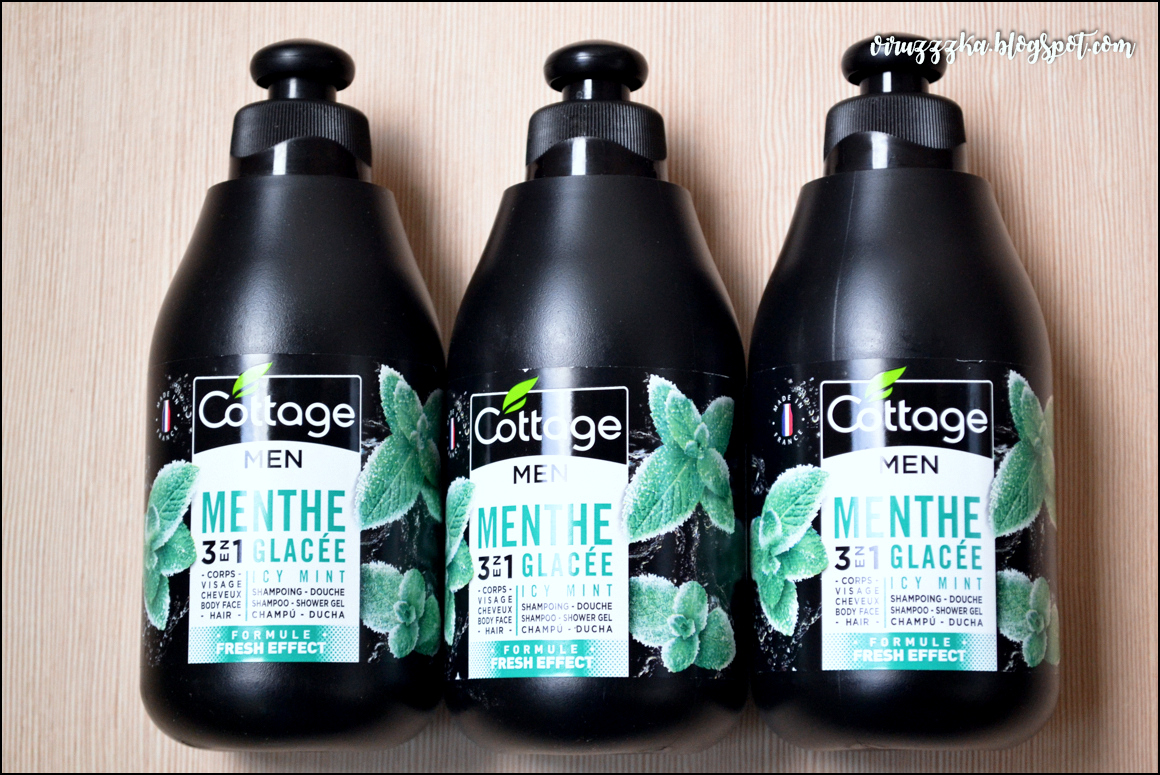 Cottage Home 3 en 1 Shampoing Douche - Menthe Glacée (Fresh Effect) | Review