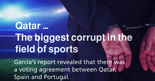 #Qatar: the most corrupt in the world of sports #Qatarism | الفساد فى قطر للركب