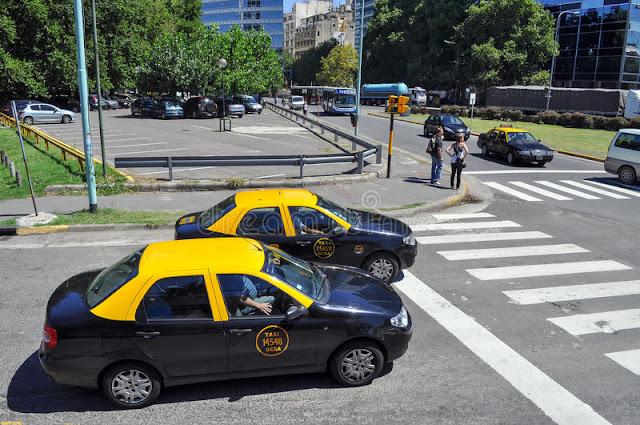 Segurança nos táxis de Buenos Aires