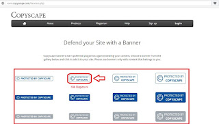 Cara memasang banner copyscape