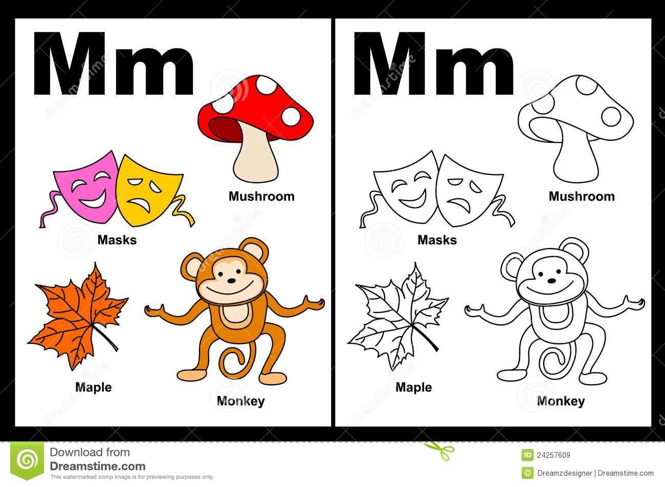 Vive El Alfabeto En Ingles Esta Es La M