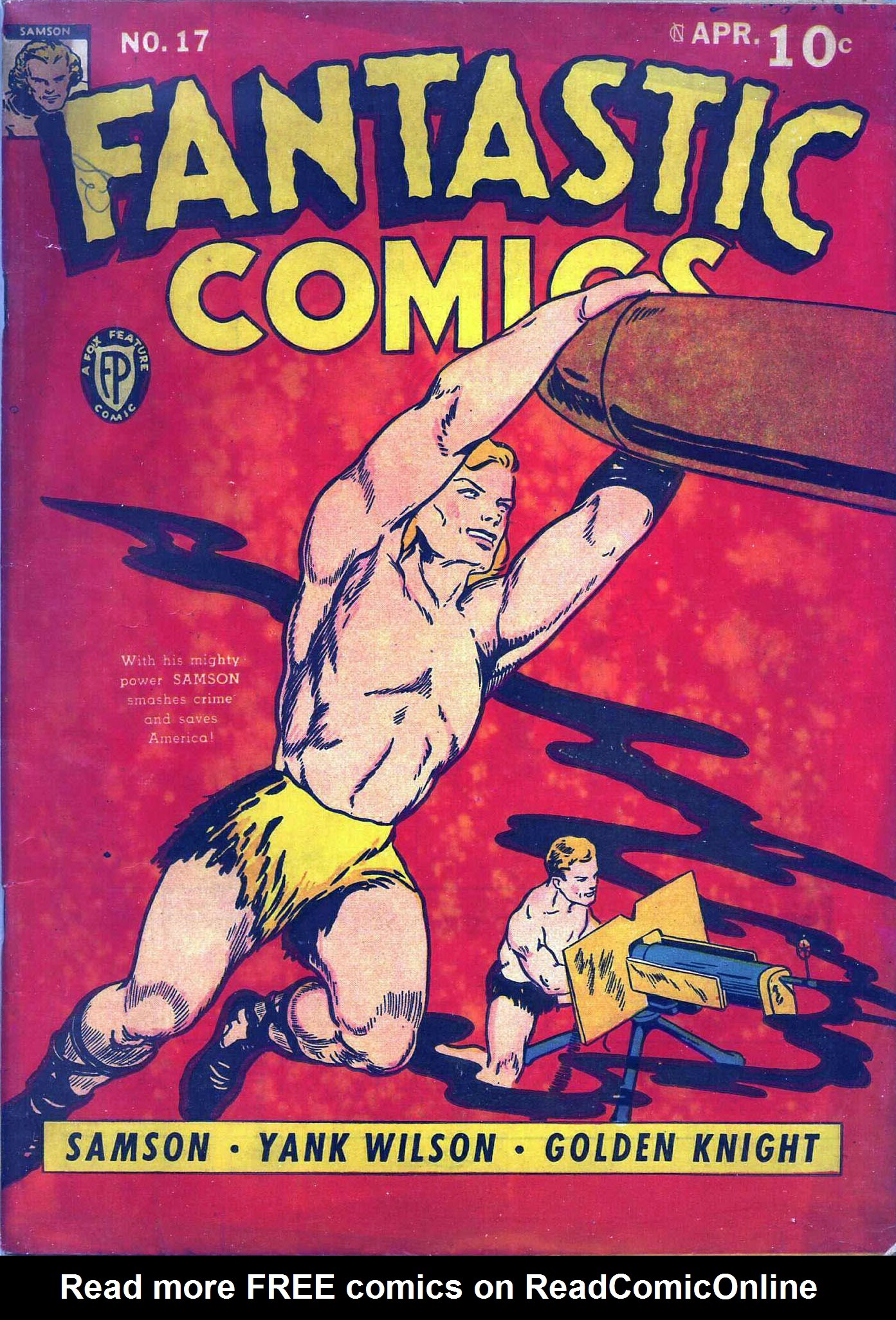 Fantastic Comics 17 Page 1