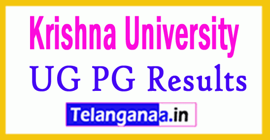 Krishna University UG PG Results